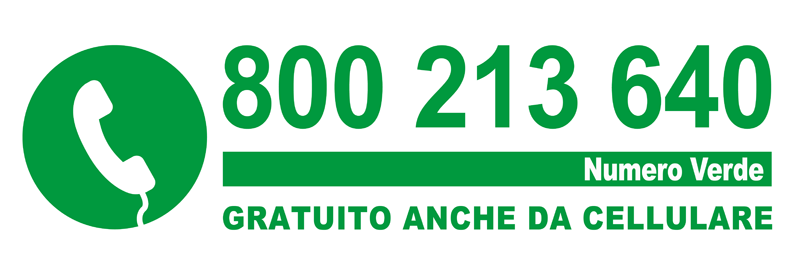 Numero gratuito 800 213 640